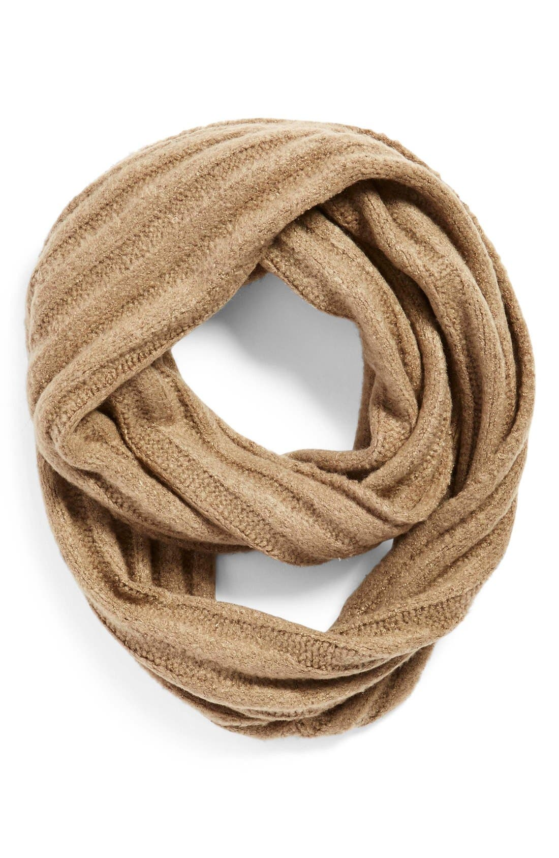 Alternate Image 1 Selected - BP. Ribbed Cable Knit Infinity Scarf