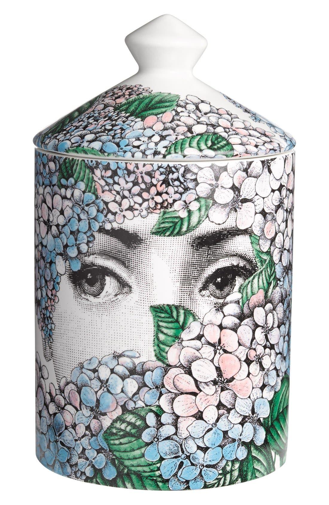 Alternate Image 2  - Fornasetti 'Ortensia - Flora' Lidded Candle