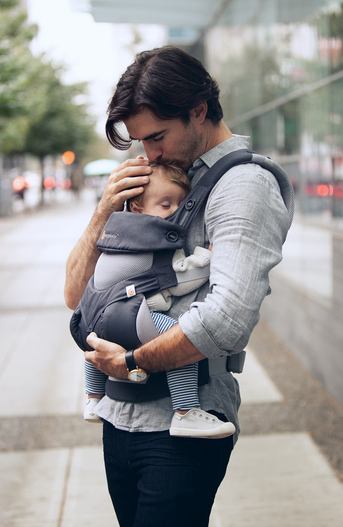 Alternate Image 6  - ERGObaby 'Four Position 360 - Cool Air' Baby Carrier