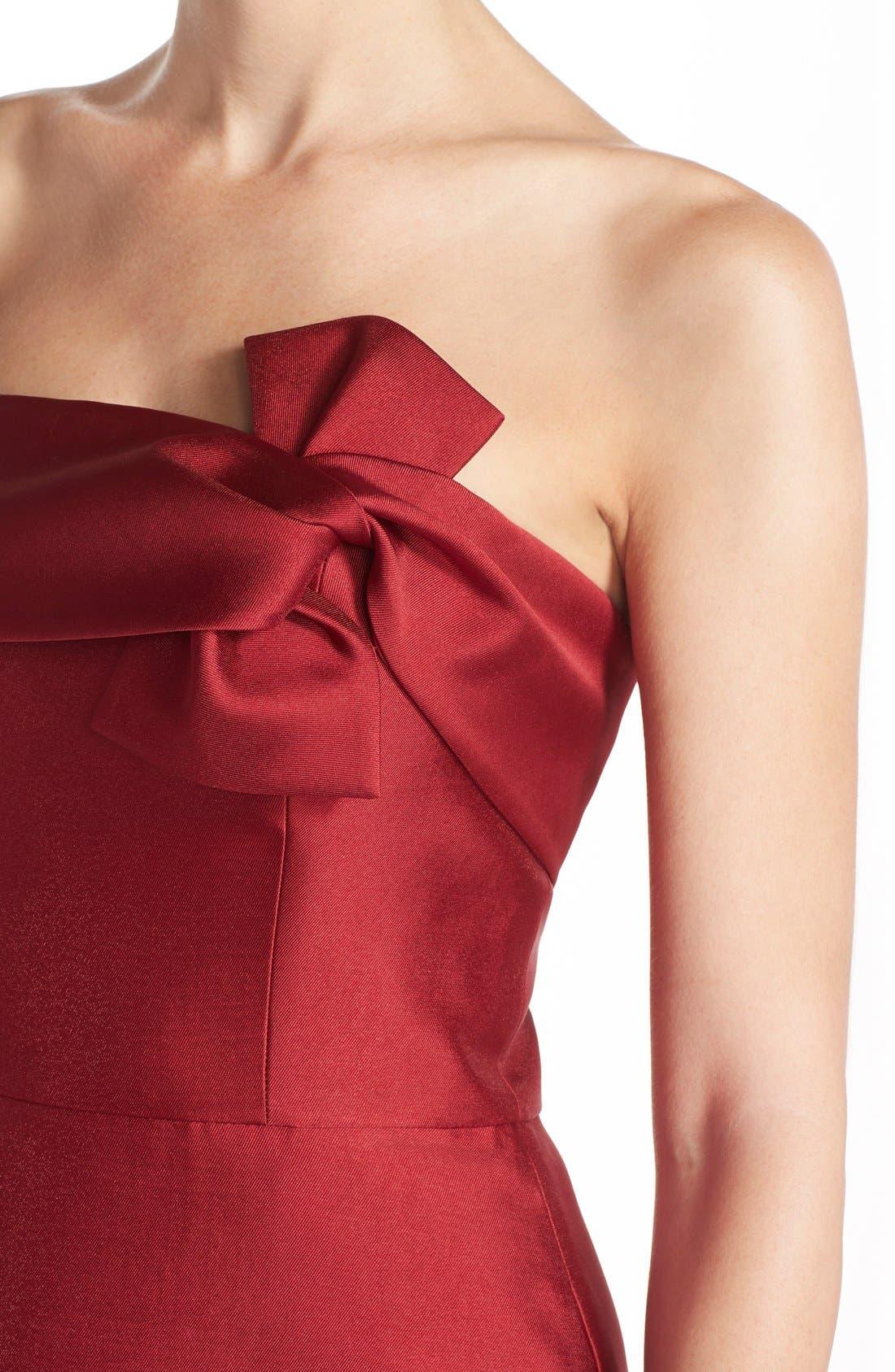 Alternate Image 4  - ERIN erin fetherston 'Katie' Bow Neck Twill Fit & Flare Dress