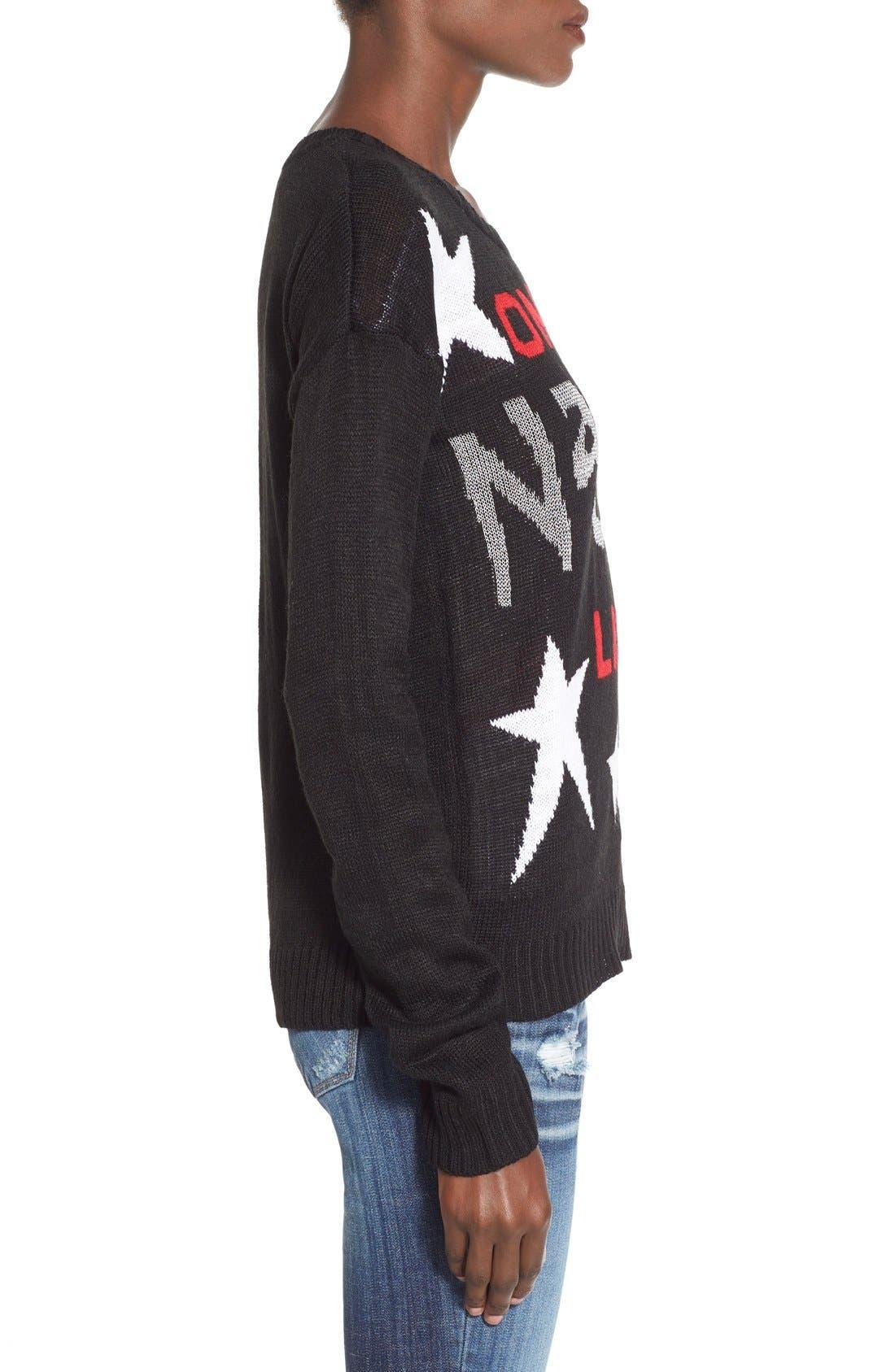 Alternate Image 3  - Derek Heart 'Naughty List' Christmas Sweater
