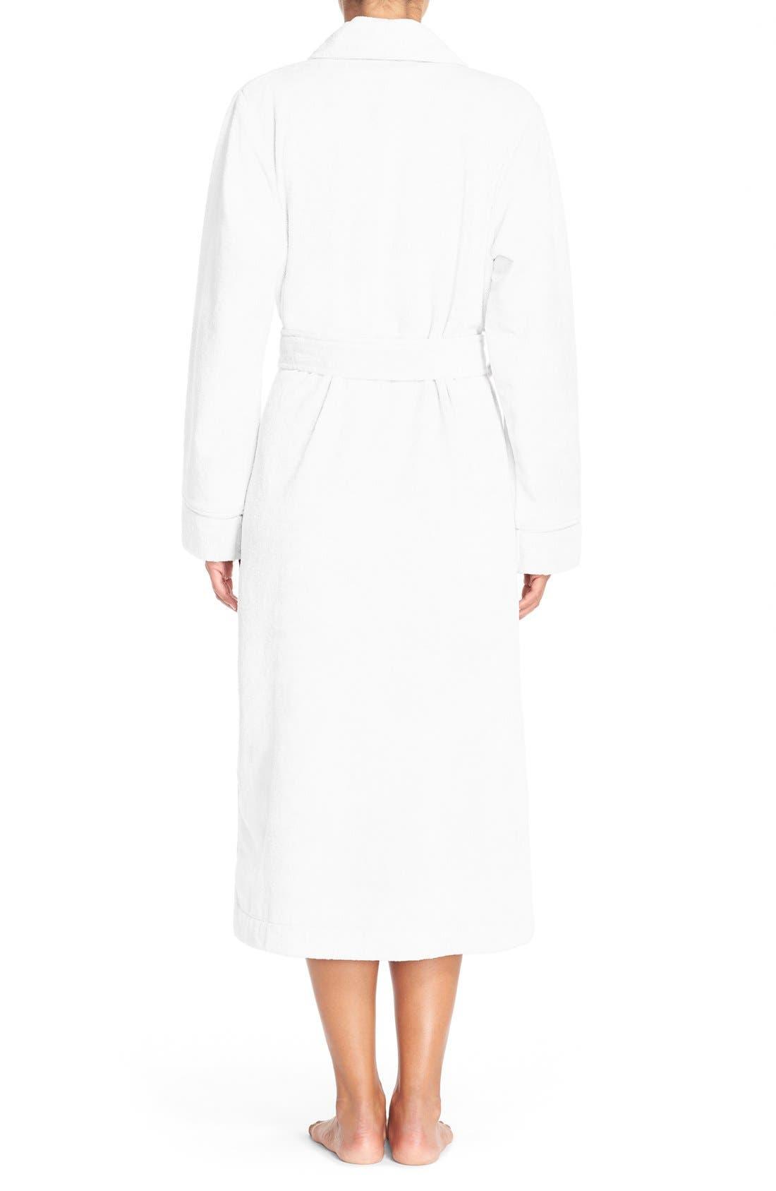 Alternate Image 3  - Nordstrom Lingerie Terry Velour Robe
