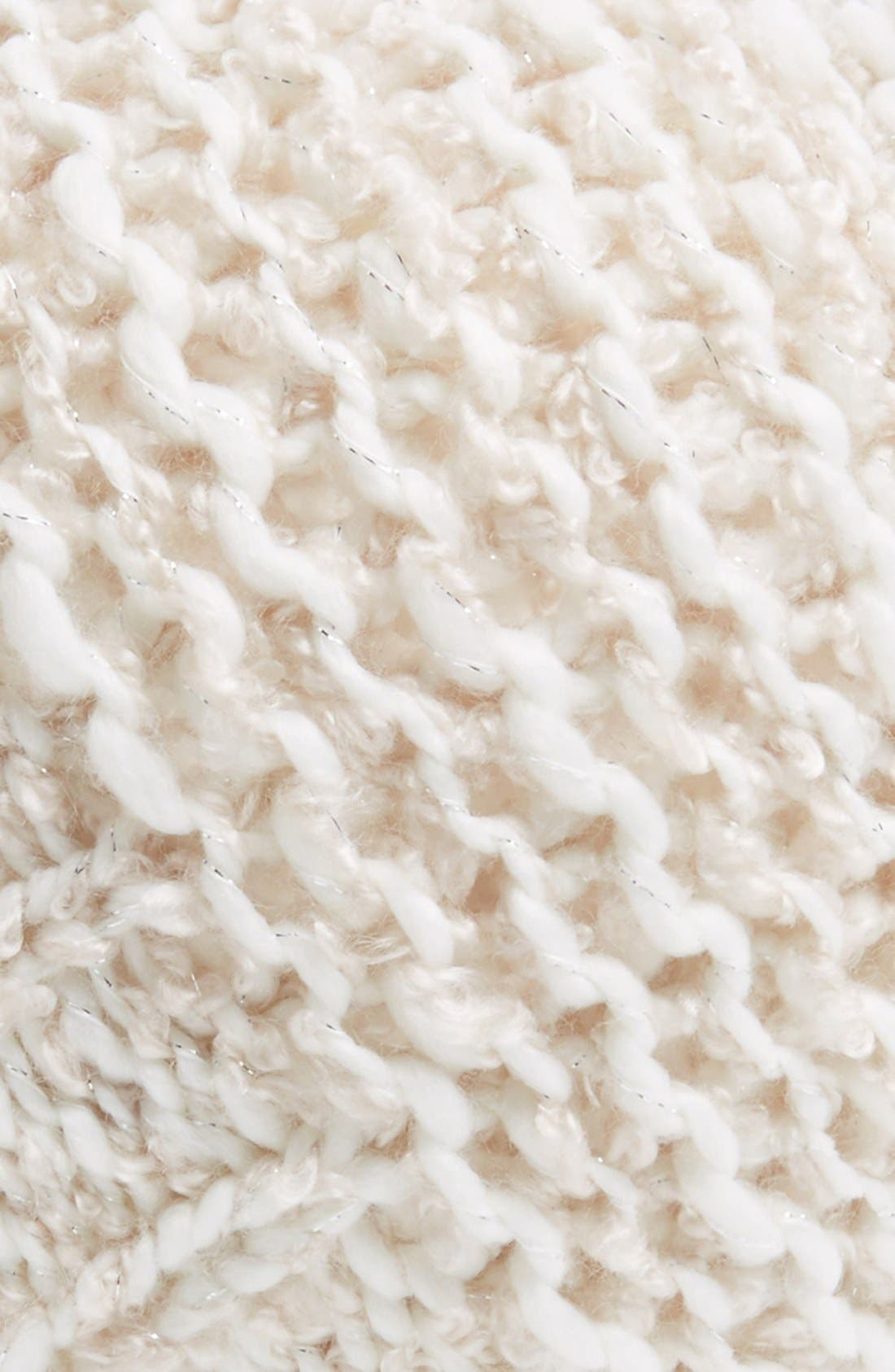 Alternate Image 2  - Hinge Knit Pompom Beanie