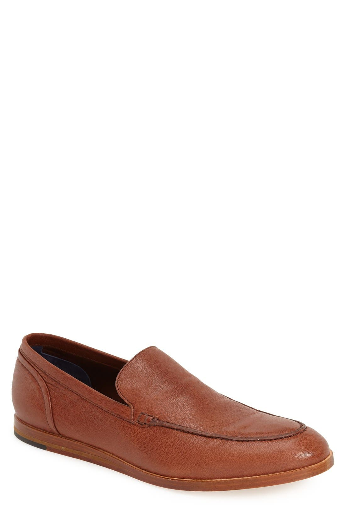 'Bedford' Loafer,                             Main thumbnail 1, color,                             Sequoia Brown