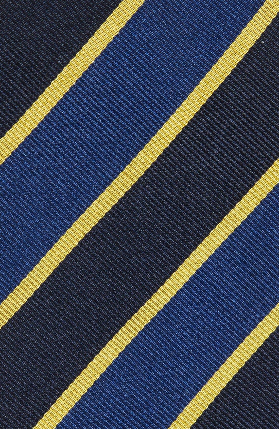 Alternate Image 2  - Gitman Stripe Silk Tie