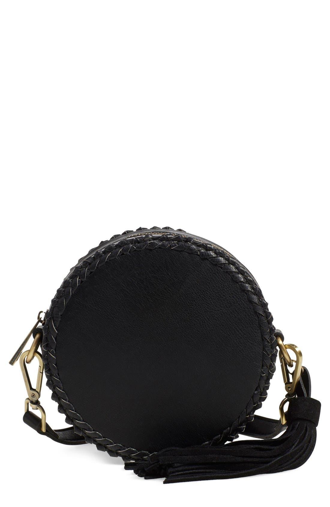 Alternate Image 1 Selected - Street Level Round Crossbody Bag