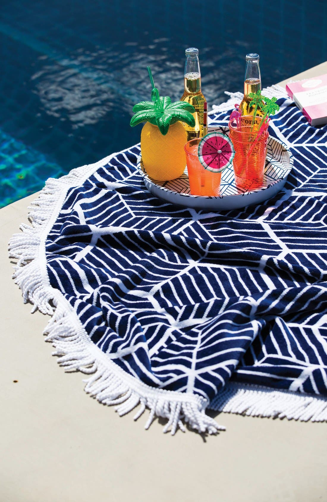 Alternate Image 5  - Sunnylife Pineapple Cup & Straw