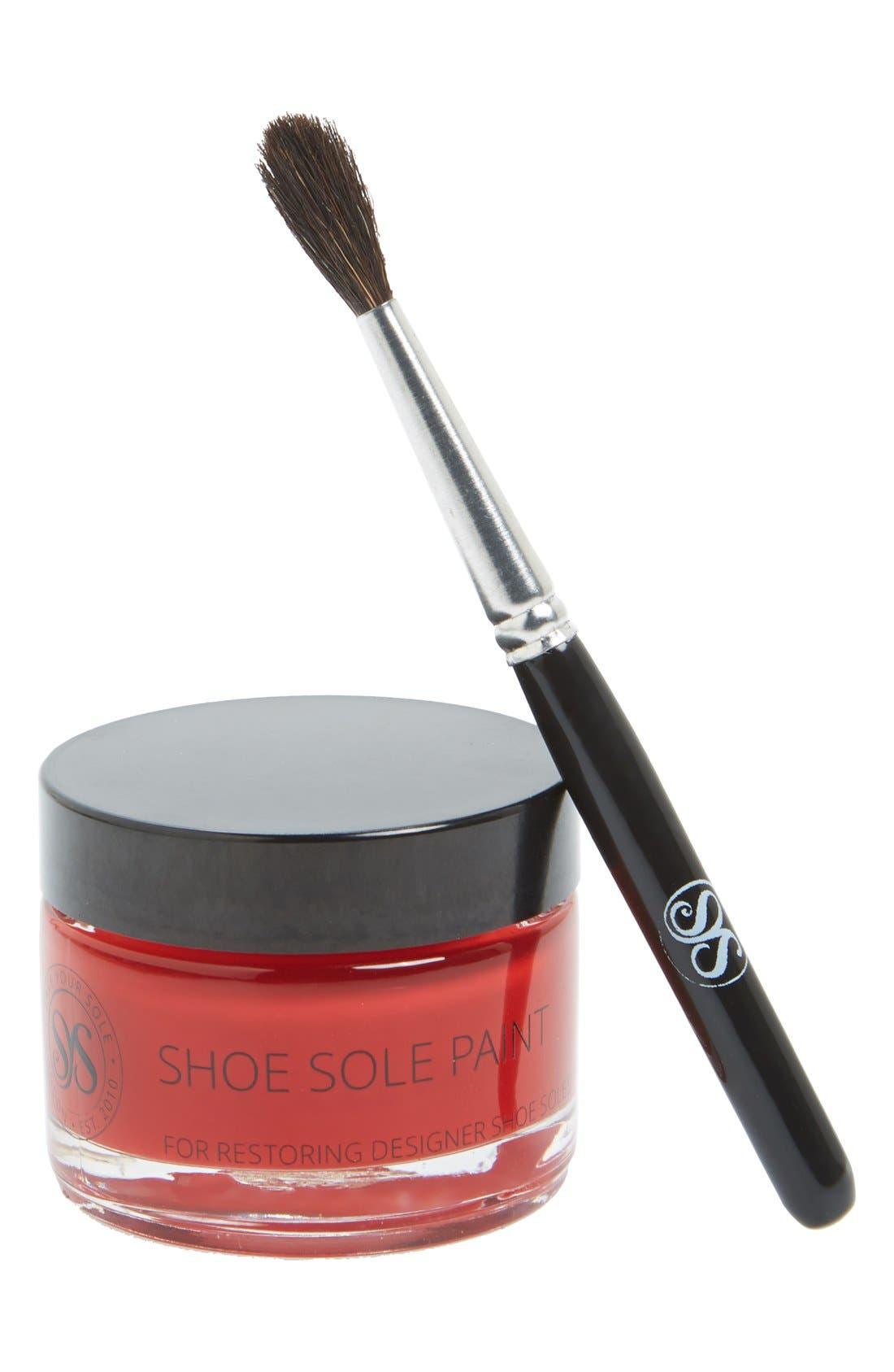 Sole Repair Paint Kit,                         Main,                         color, Red