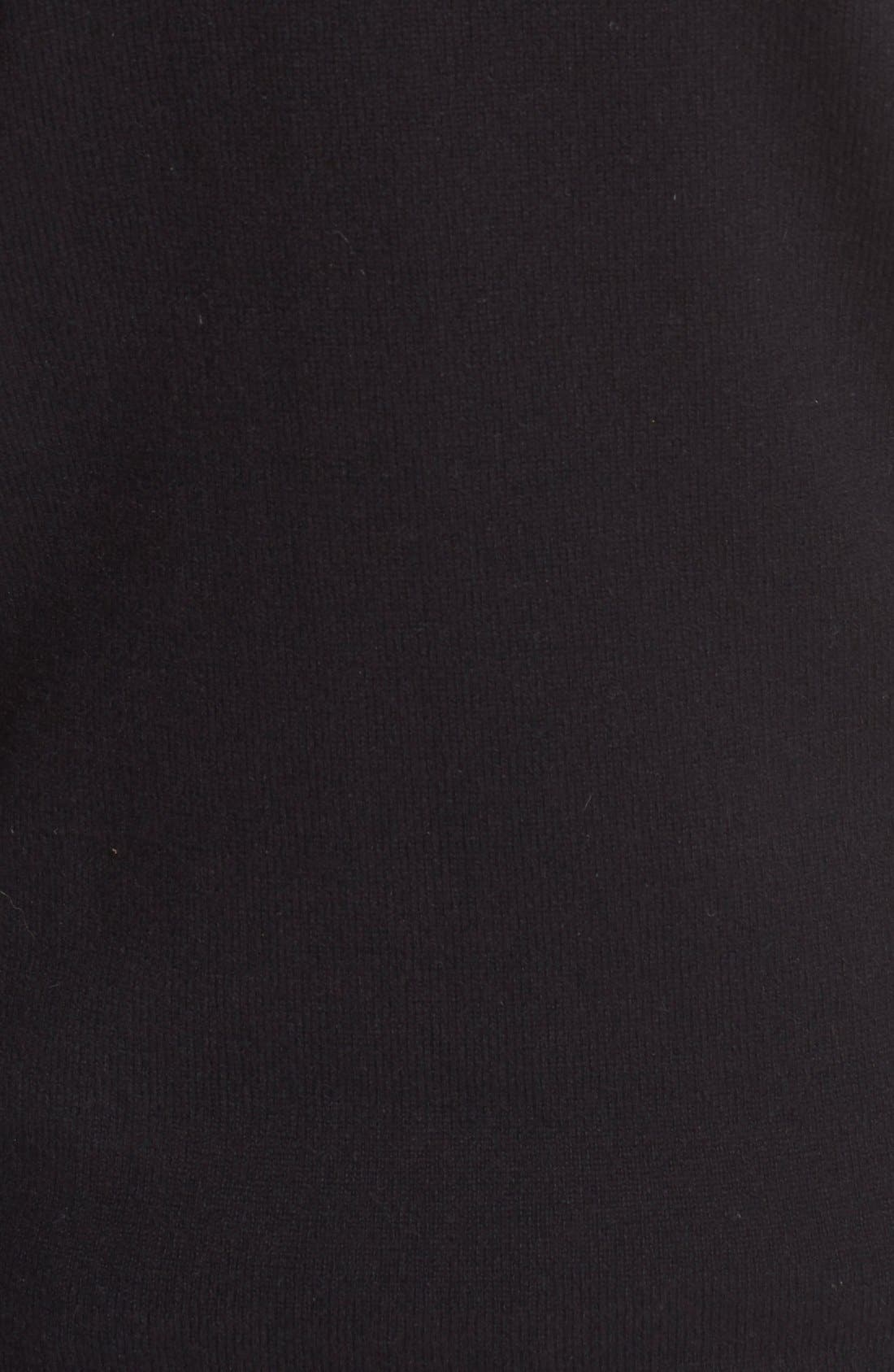 '1970' Wool Sweater,                             Alternate thumbnail 3, color,                             Black