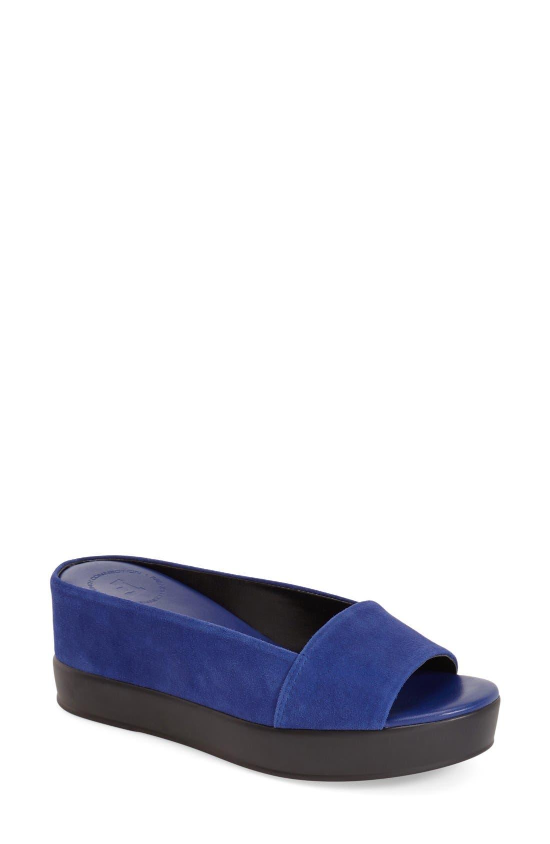 Main Image - French Connection 'Pepper' Slip-On Platform Sandal (Women)