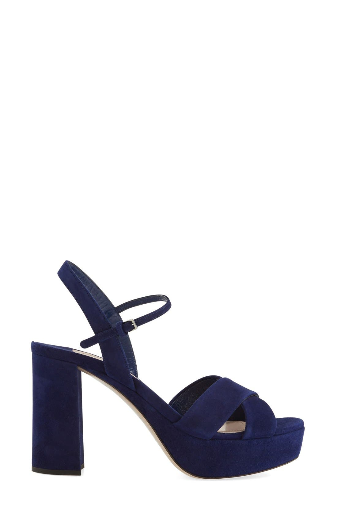 Alternate Image 4  - Miu Miu Platform Sandal (Women)