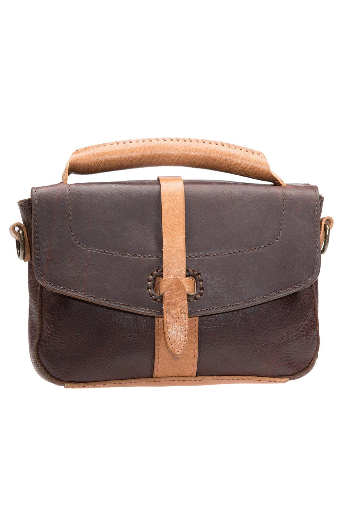 Alternate Image 1 Selected - Will Leather Goods 'Athena' Leather Crossbody Bag