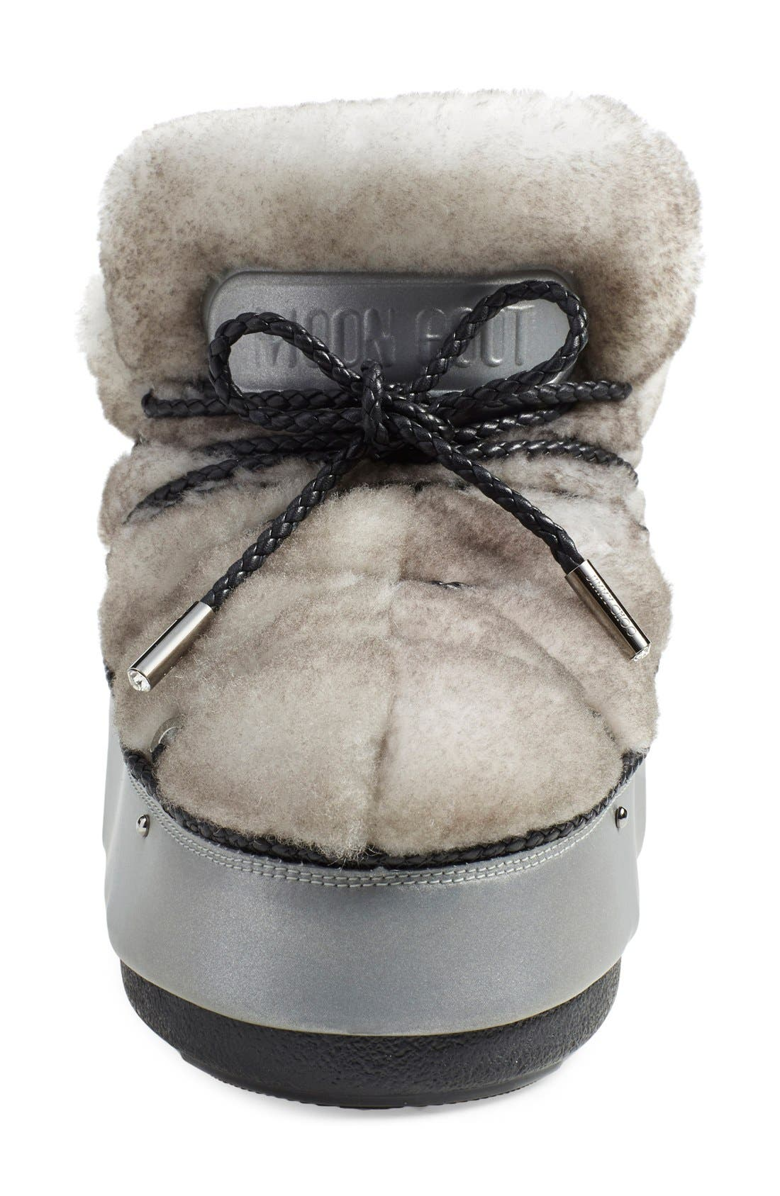 Alternate Image 3  - Jimmy Choo Genuine Shearling Moon Boot® (Women)