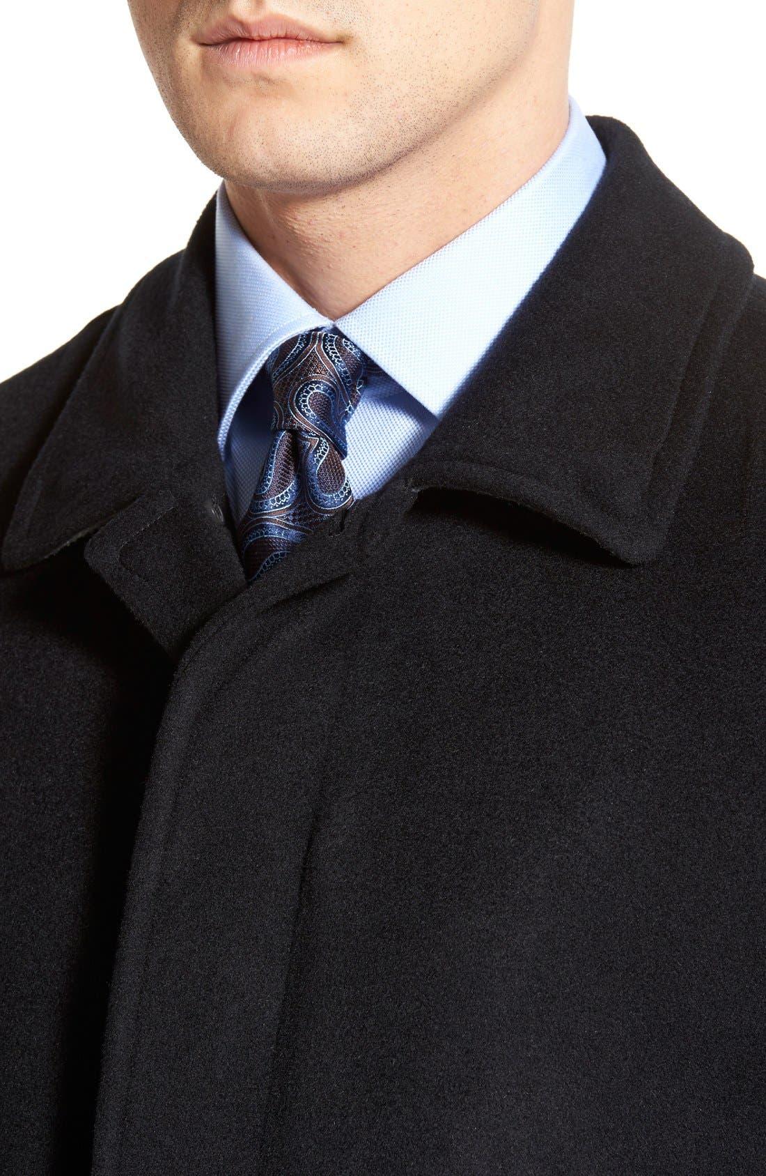 Alternate Image 4  - Hart Schaffner Marx Douglas Modern Fit Wool & Cashmere Overcoat