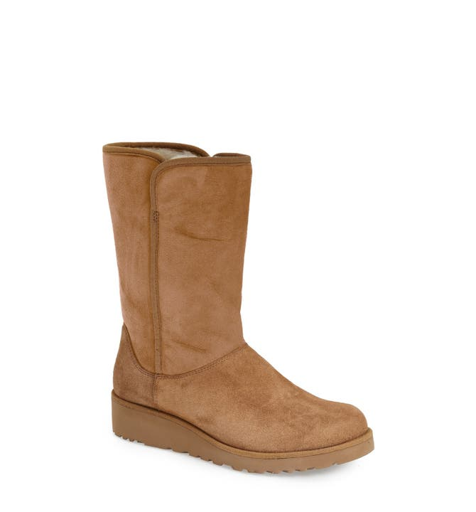 Main Image Ugg Amie Clic Slim Water Resistant Short Boot Women