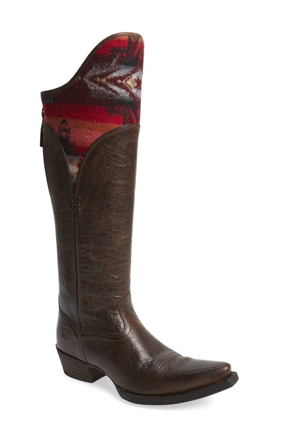 Alternate Image 1 Selected - Ariat 'Caldera' Western Boot (Women)