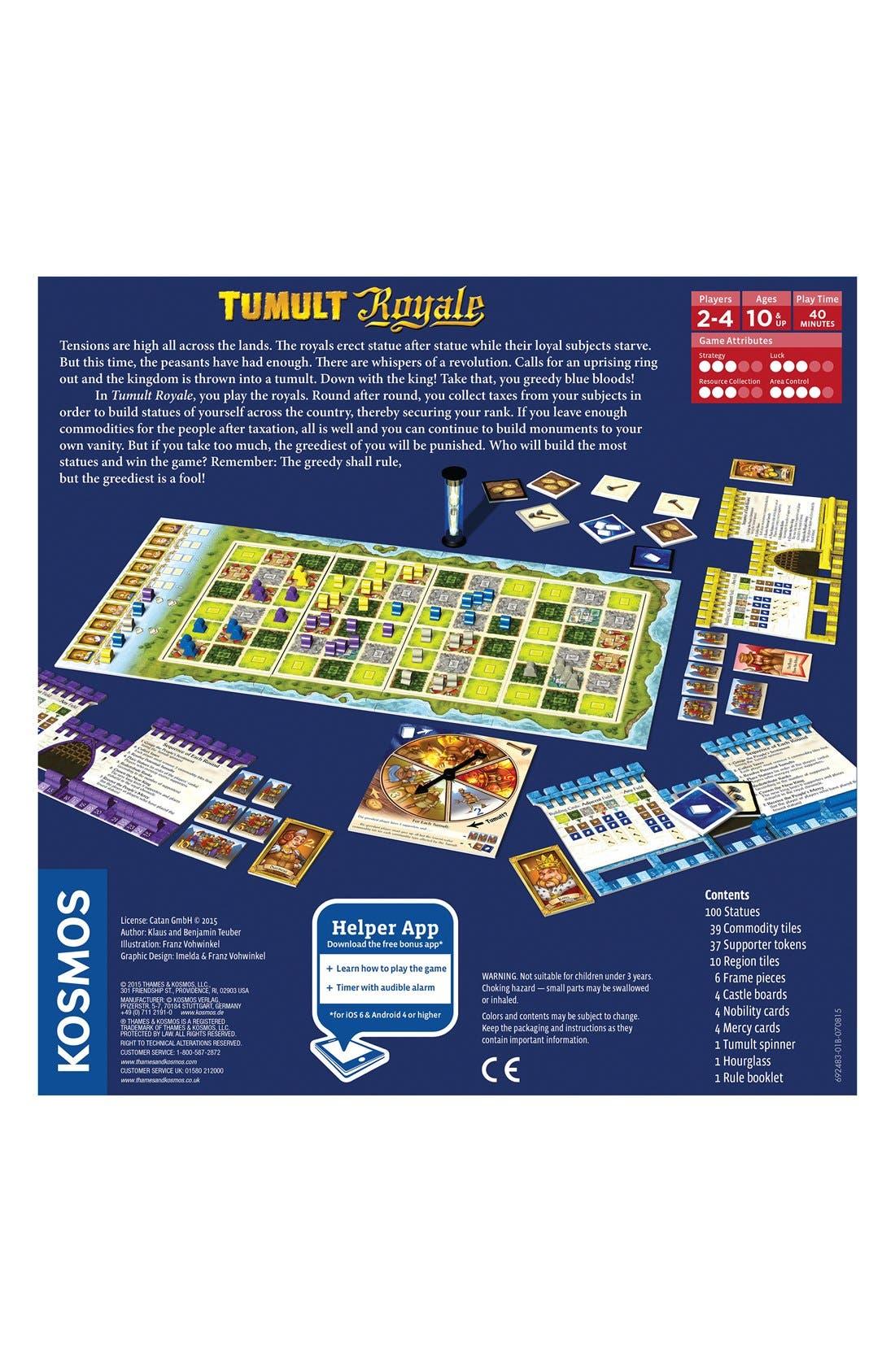 'Tumult Royale' Board Game,                             Alternate thumbnail 3, color,                             Blue