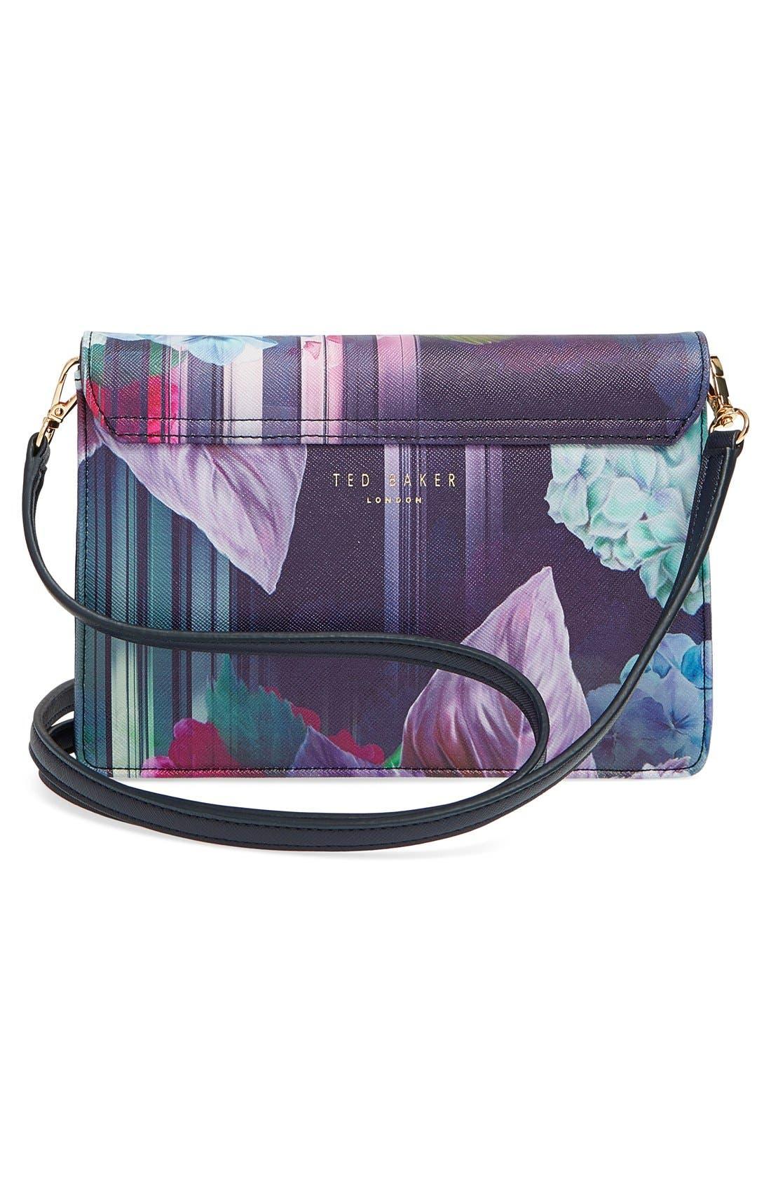 Alternate Image 3  - Ted Baker London 'Hydrangea' Floral Print Crossbody Bag
