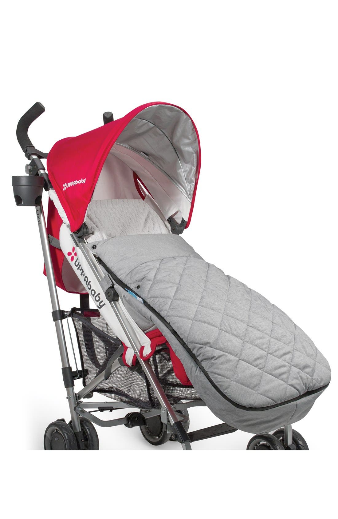 CozyGanoosh Water Resistant & Insulated Stroller Footmuff,                             Alternate thumbnail 2, color,                             Grey