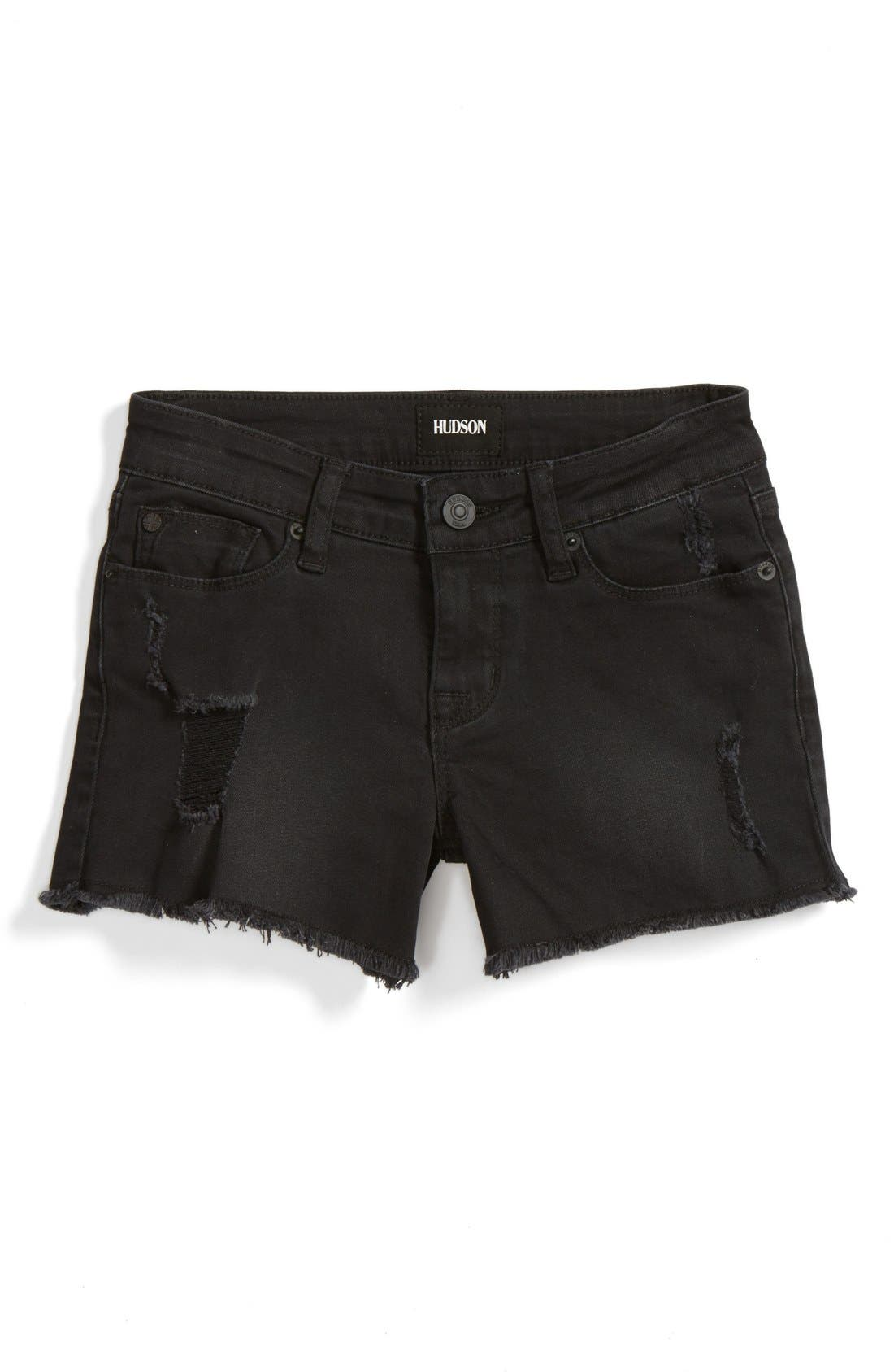 Hudson Kids Frayed Shorts (Big Girls)