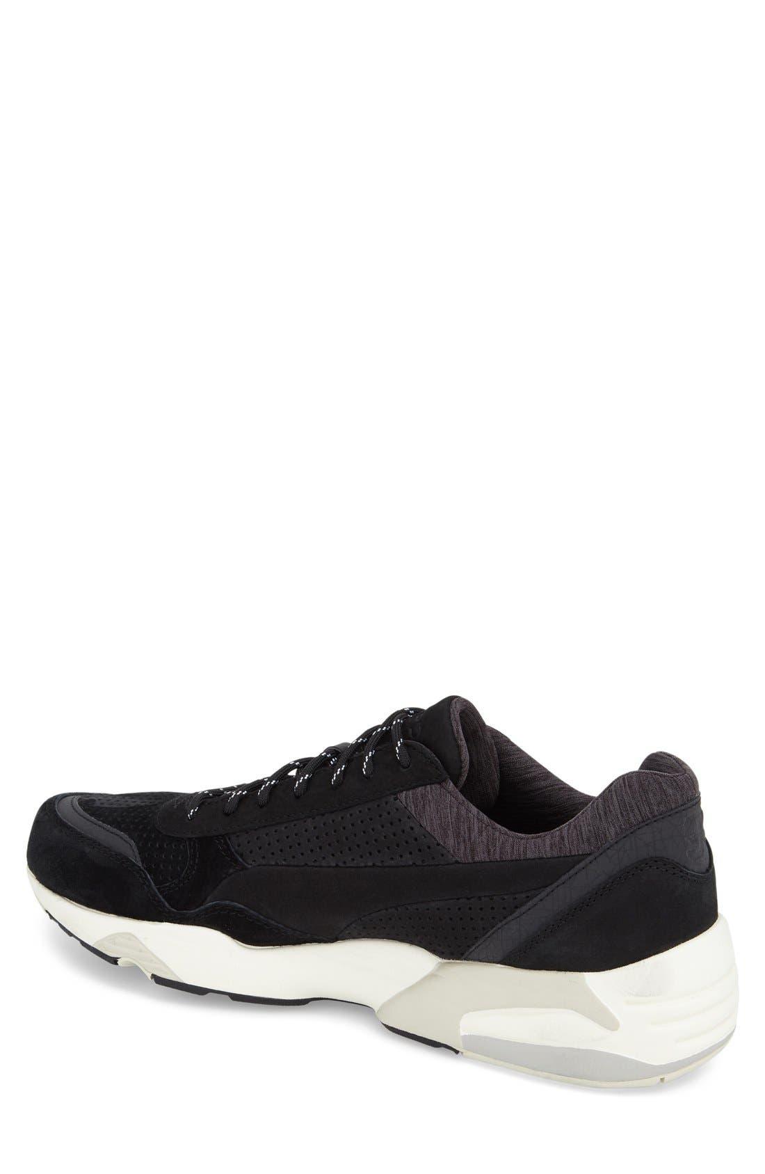 'R698 X STAMPD' Sneaker,                             Alternate thumbnail 2, color,                             Black