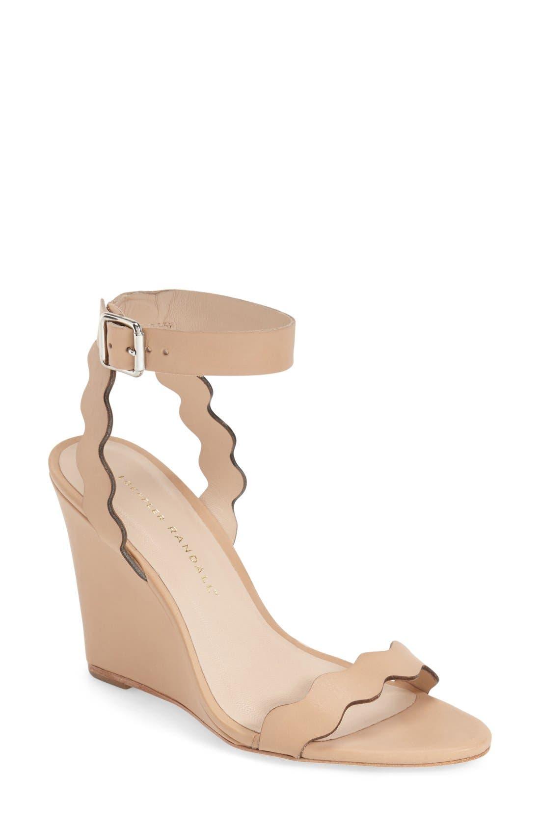 Loeffler Randall 'Piper' Wedge Sandal (Women)