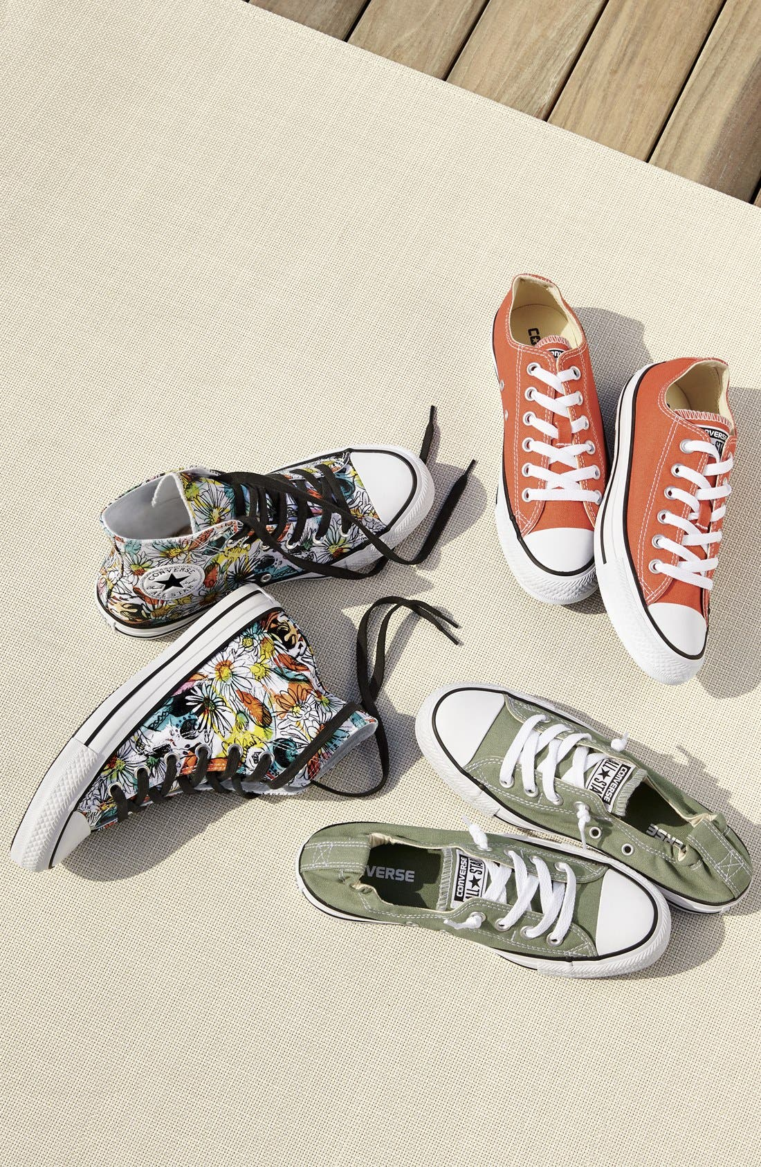 Alternate Image 5  - Converse Chuck Taylor® All Star® 'Floral' High Top Sneaker (Women)