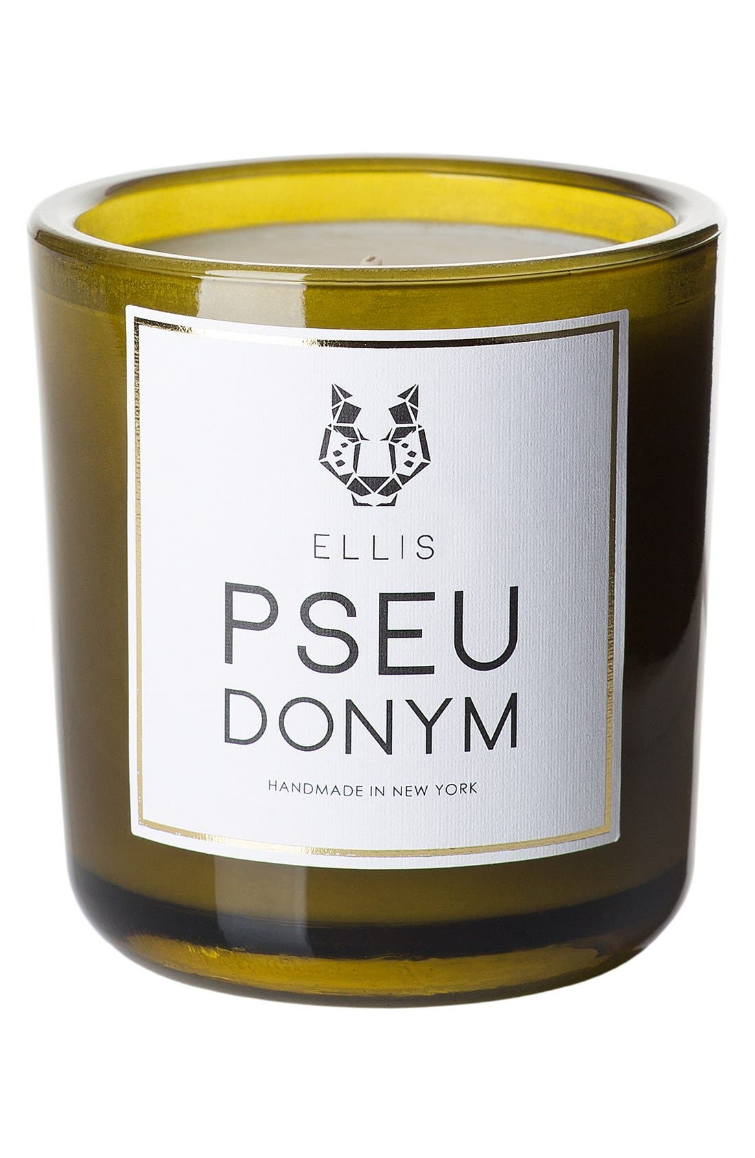 'Pseudonym Terrific' Scented Candle,                             Main thumbnail 1, color,                             No Color