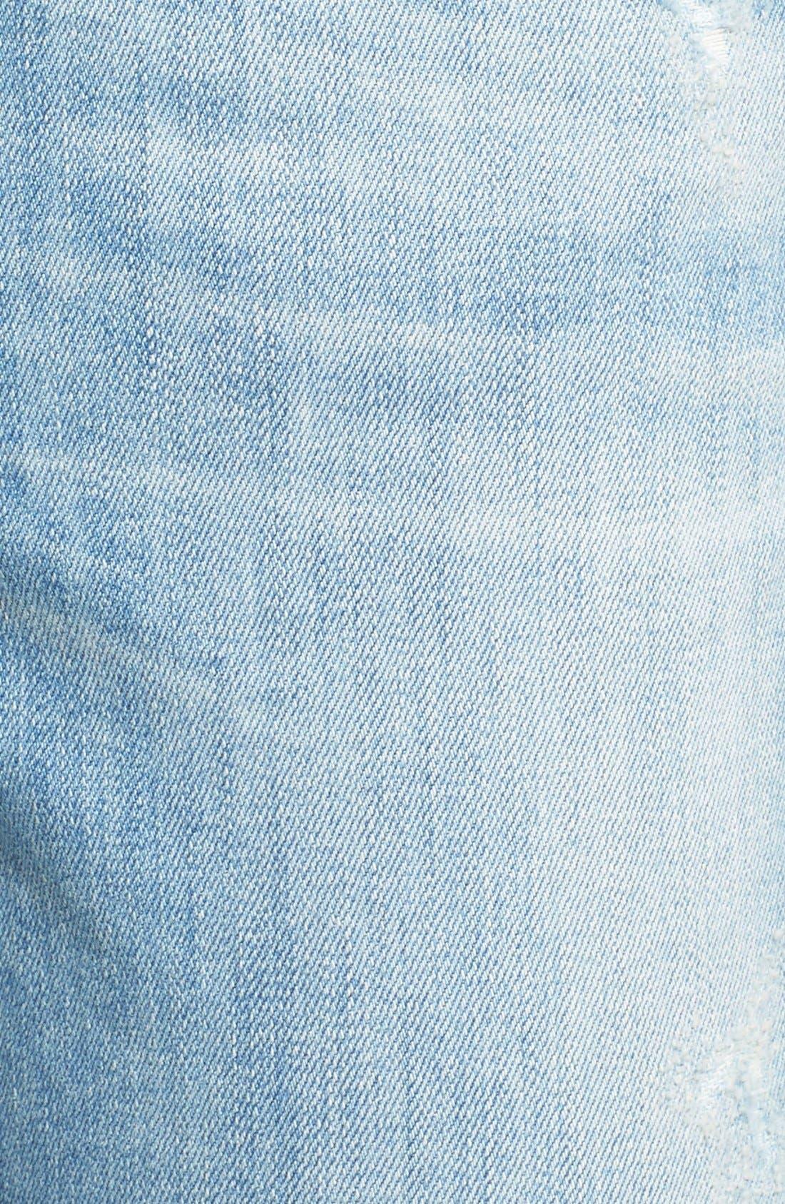 Alternate Image 5  - A Gold E 'Madison' Ultra Flare Jeans (Blue Lagoon)