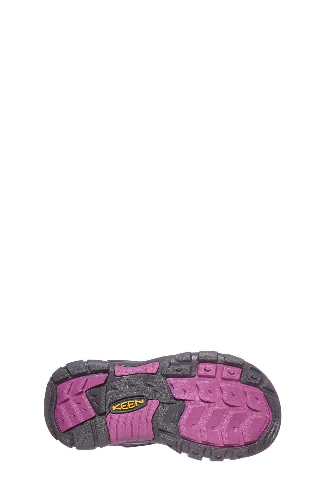 'Kootenay' Waterproof Winter Boot,                             Alternate thumbnail 4, color,                             Wineberry/ Dahlia Mauve