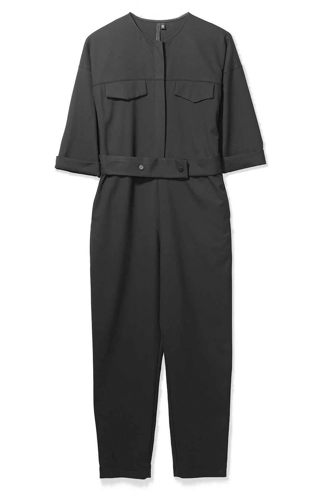 Alternate Image 3  - Topshop Boutique Tailored Jumpsuit