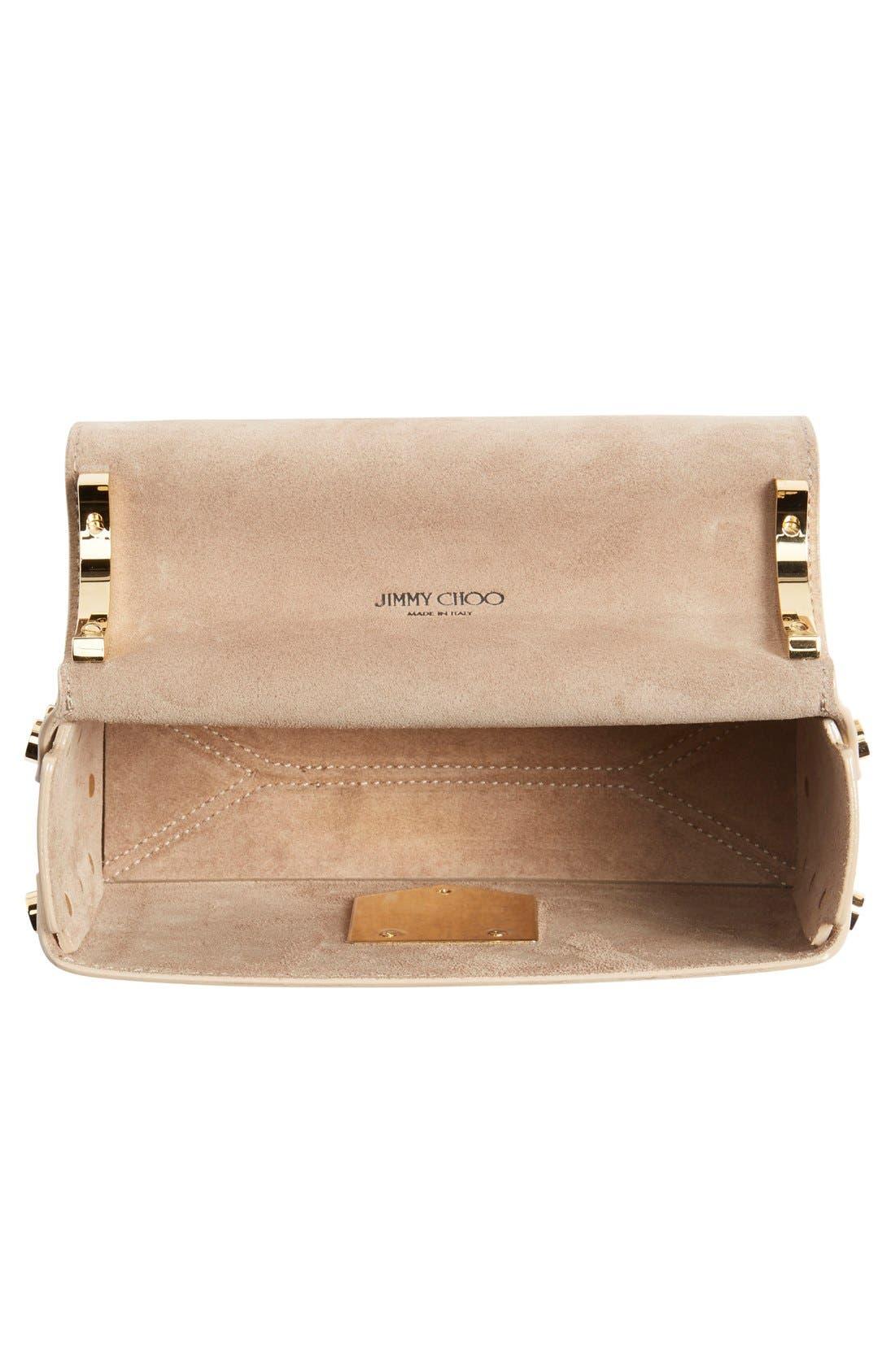 Alternate Image 2  - Jimmy Choo 'Lockett Petite' Metallic Leather Shoulder Bag