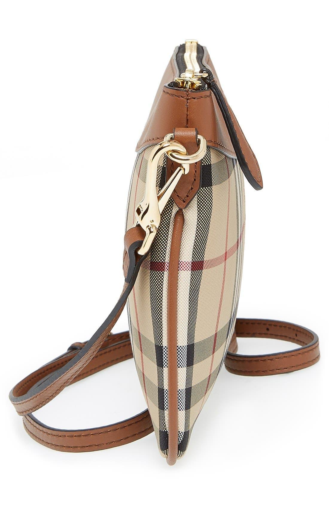 Alternate Image 5  - Burberry 'Peyton - Horseferry Check' Crossbody Bag