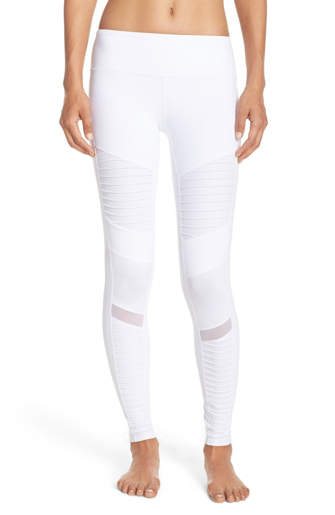 Alternate Image 1 Selected - Alo Moto Leggings