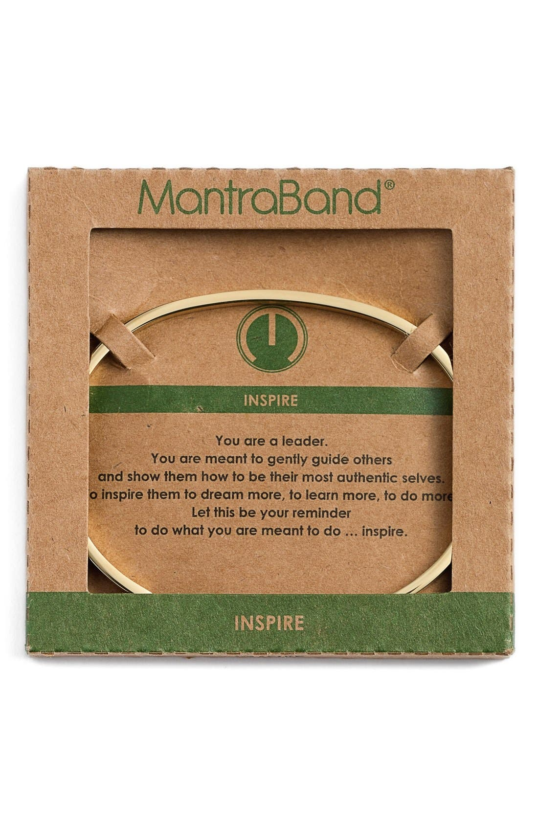 Alternate Image 2  - Mantraband® 'Inspire' Cuff