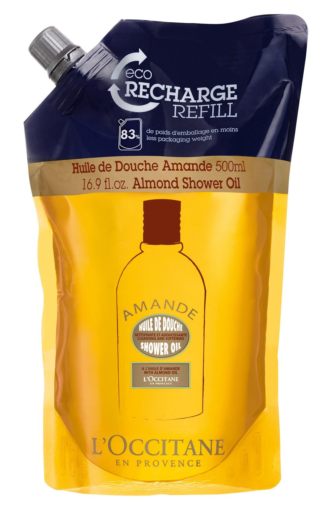 L'Occitane 'Almond' Eco-Refill Shower Oil