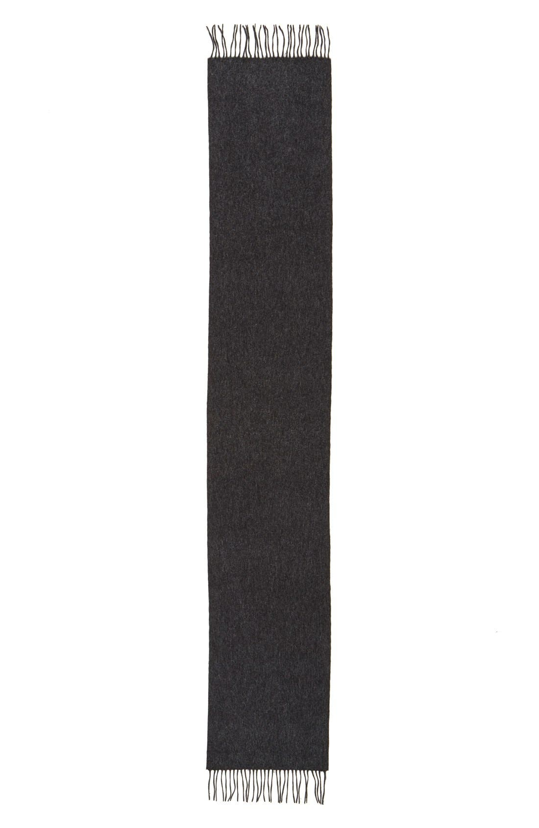 Alternate Image 3  - Nordstrom Men's Shop Wool Scarf