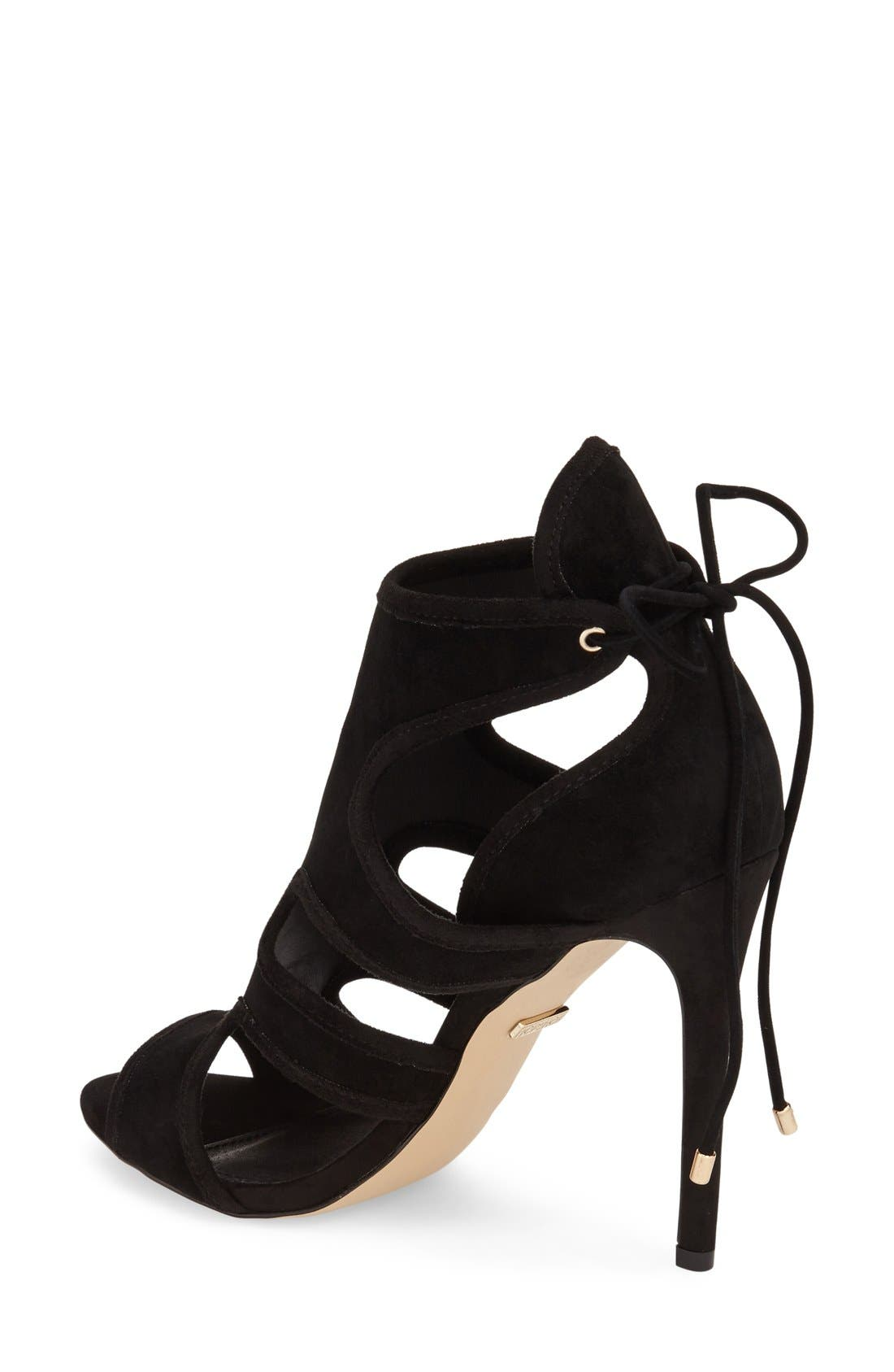 Alternate Image 2  - Topshop 'Reveal' Cutaway' Sandal (Women)