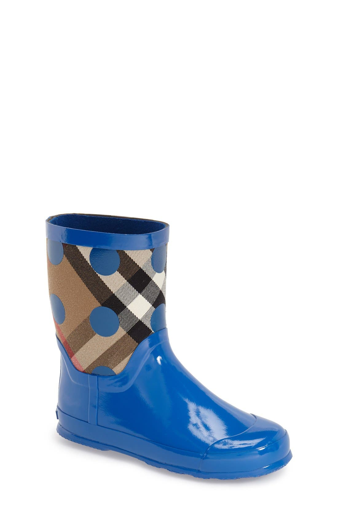 Burberry 'Ranmoor' Waterproof Rain Boot (Walker, Toddler & Little Kid)