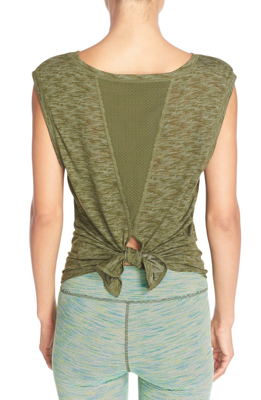Alternate Image 1 Selected - Zella 'Luna' Convertible Tie Tee