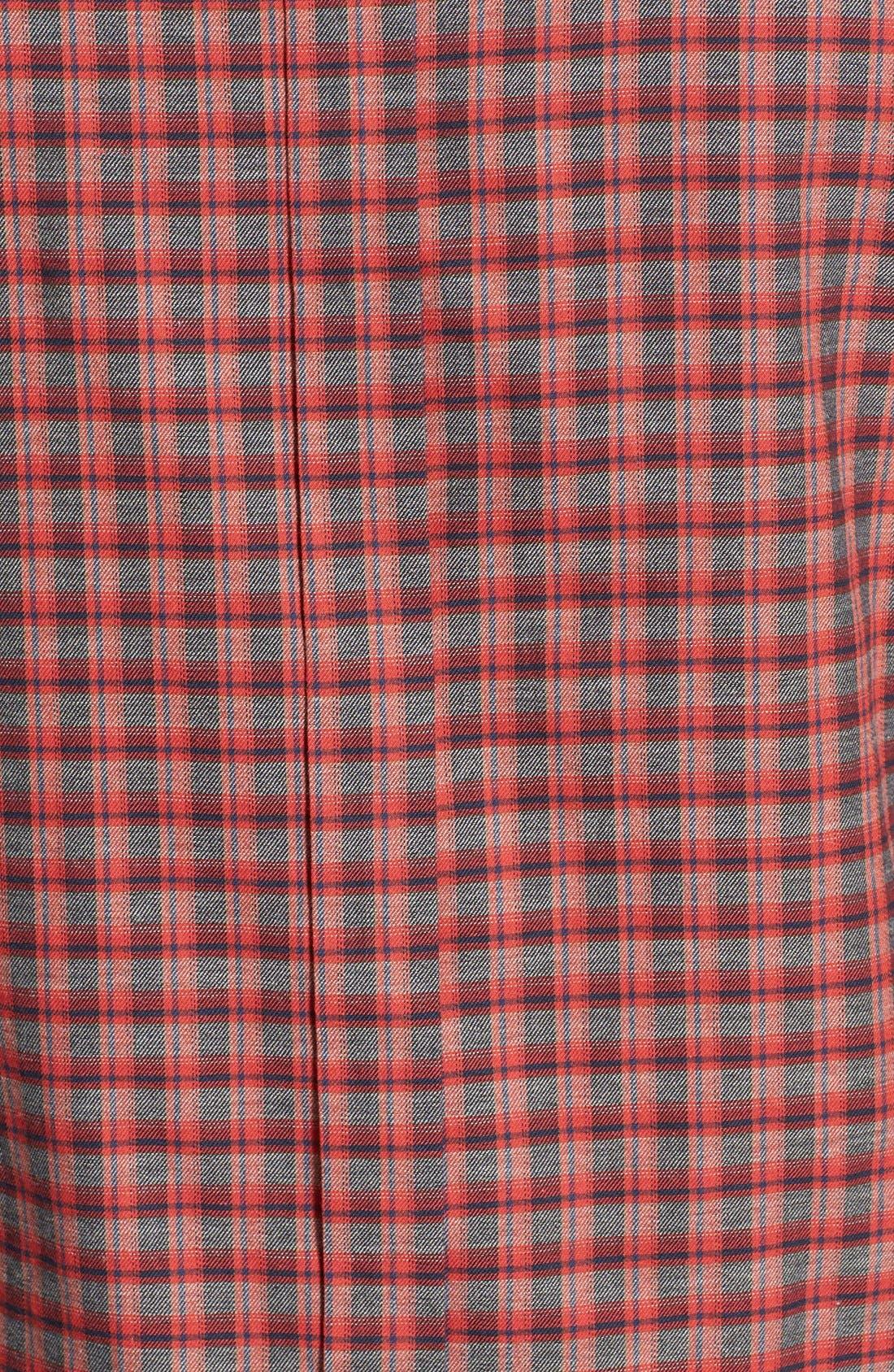 Alternate Image 5  - Ben Sherman Mod Fit Tartan Plaid Sport Shirt