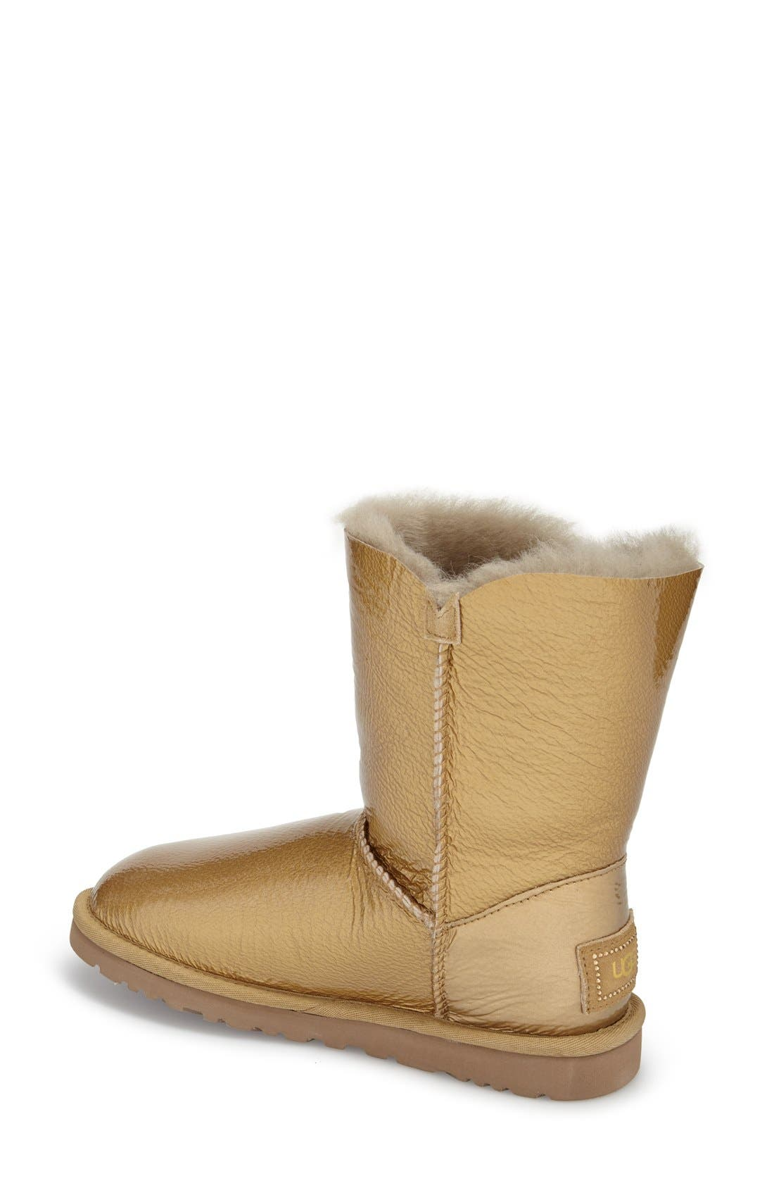 Alternate Image 2  - UGG® 'Bailey Button - Mirage' Water Resistant Boot (Women)