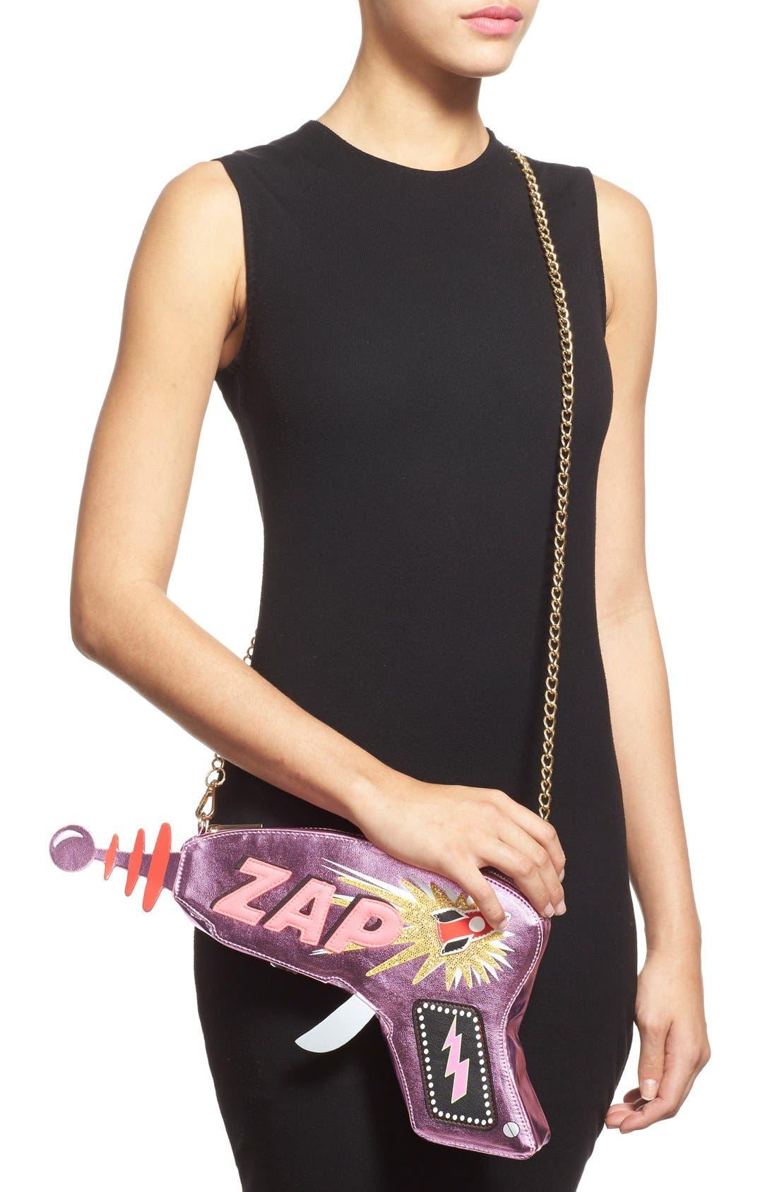 Alternate Image 2  - Skinnydip 'ZAP' Convertible Clutch