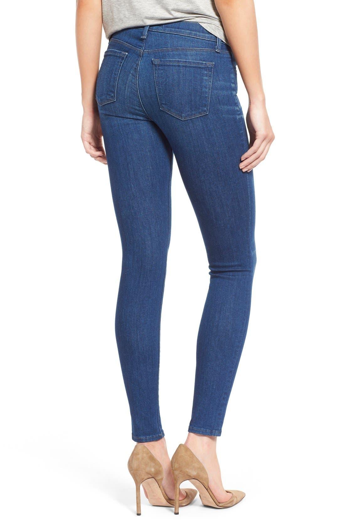Alternate Image 2  - J Brand Super Skinny Jeans (Enigma)