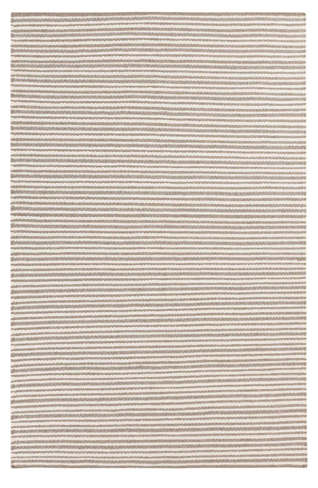 'Ravena' Wool Rug,                         Main,                         color, Ivory/ Taupe