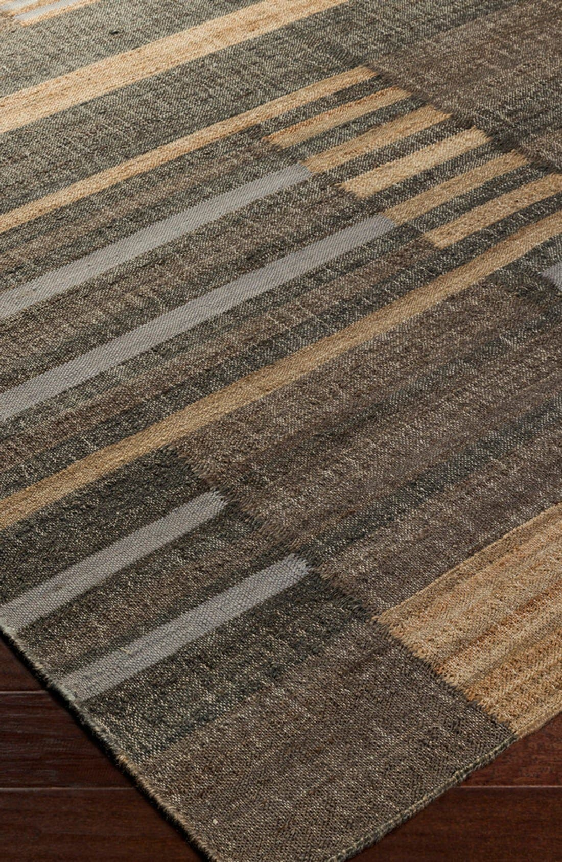 'Seaport Lines' Rug,                             Alternate thumbnail 2, color,                             Light Grey Multi
