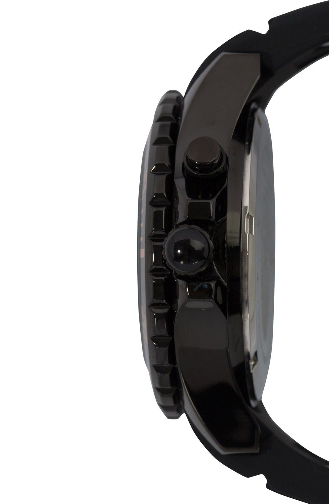 Alternate Image 3  - KYBOE! Silicone Strap Watch, 40mm
