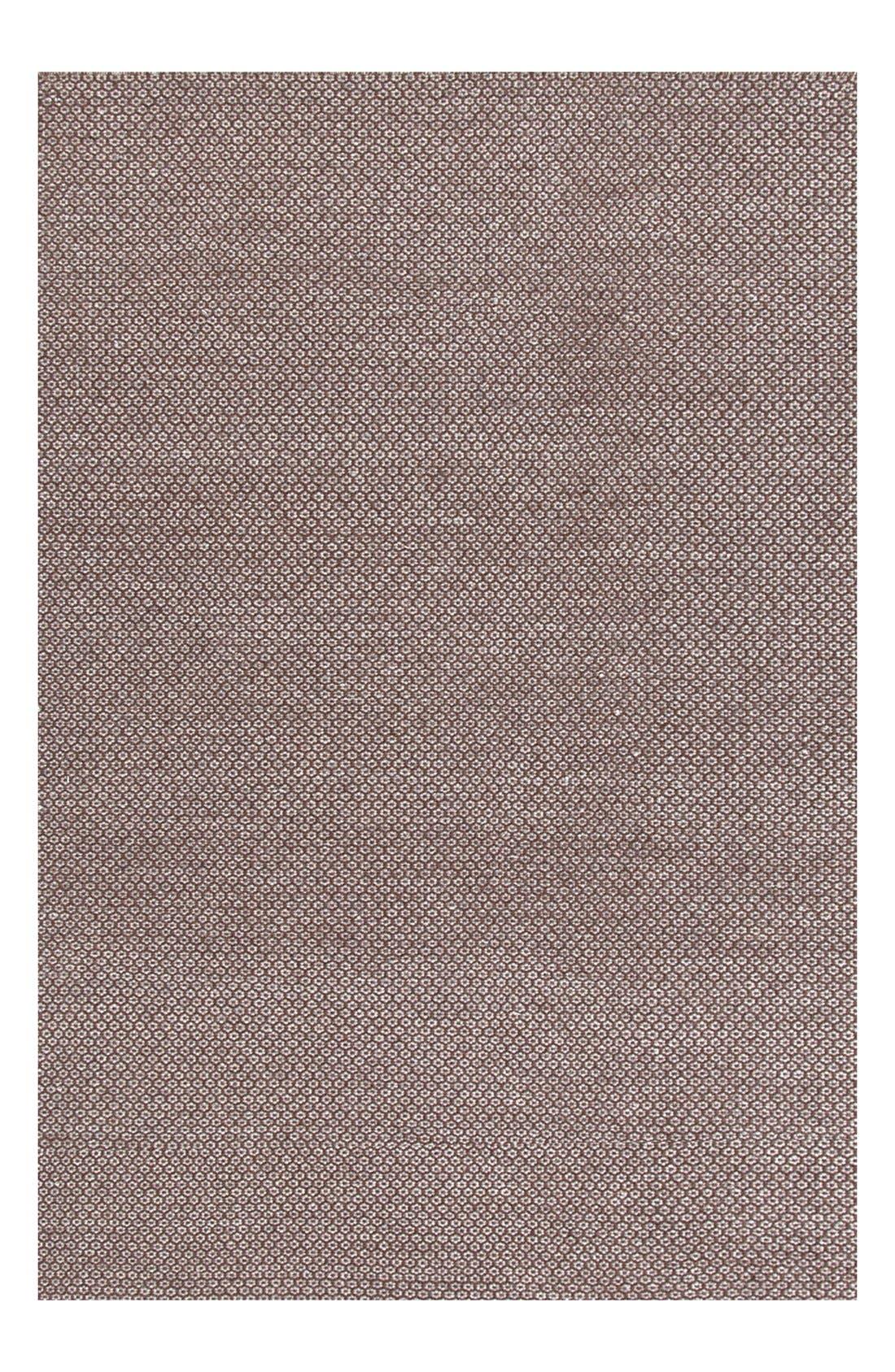 Alternate Image 1 Selected - Dash & Albert 'Honeycomb' Wool Rug