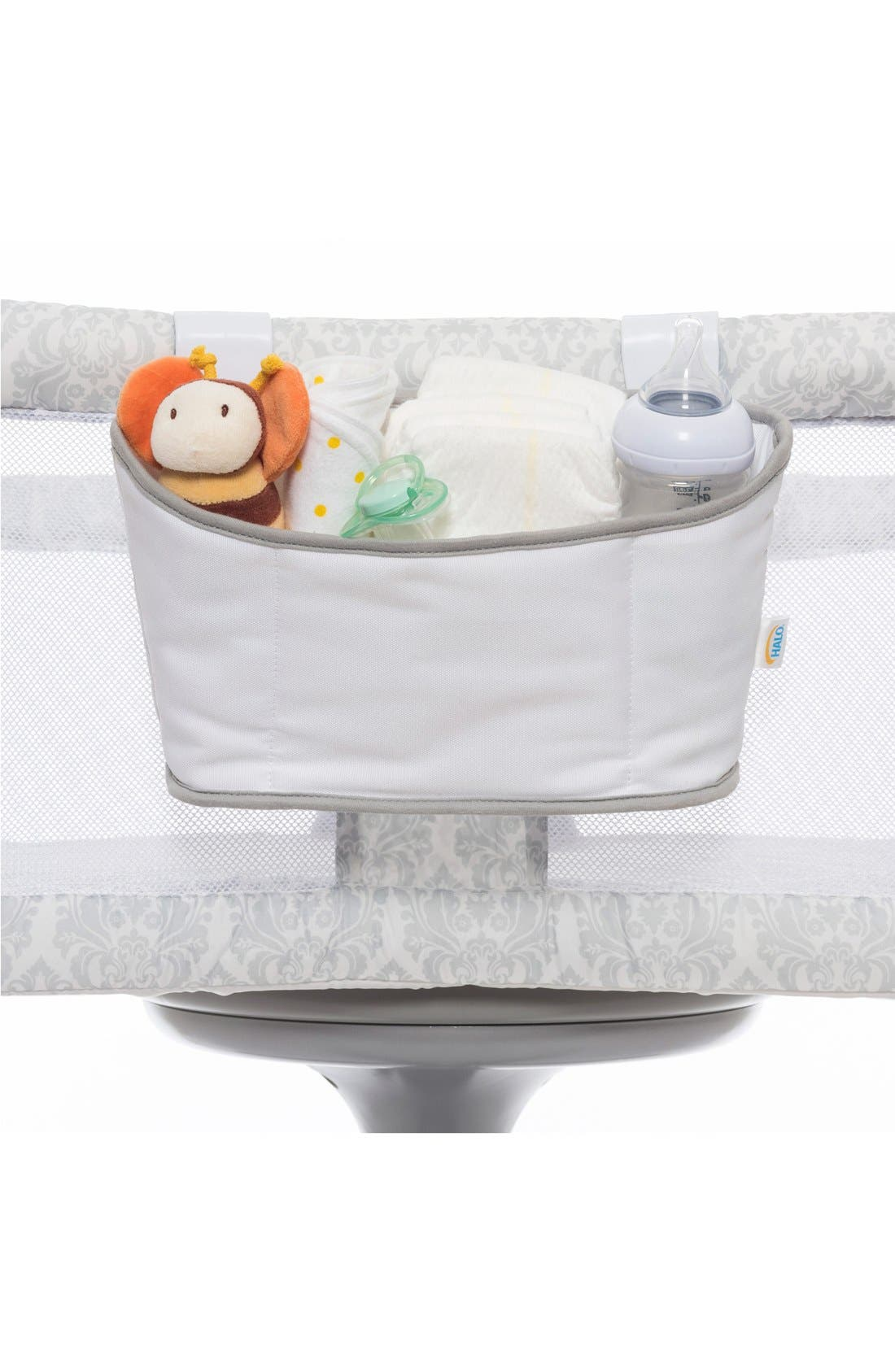 Bassinest<sup>™</sup> Storage Caddy,                             Alternate thumbnail 2, color,                             White