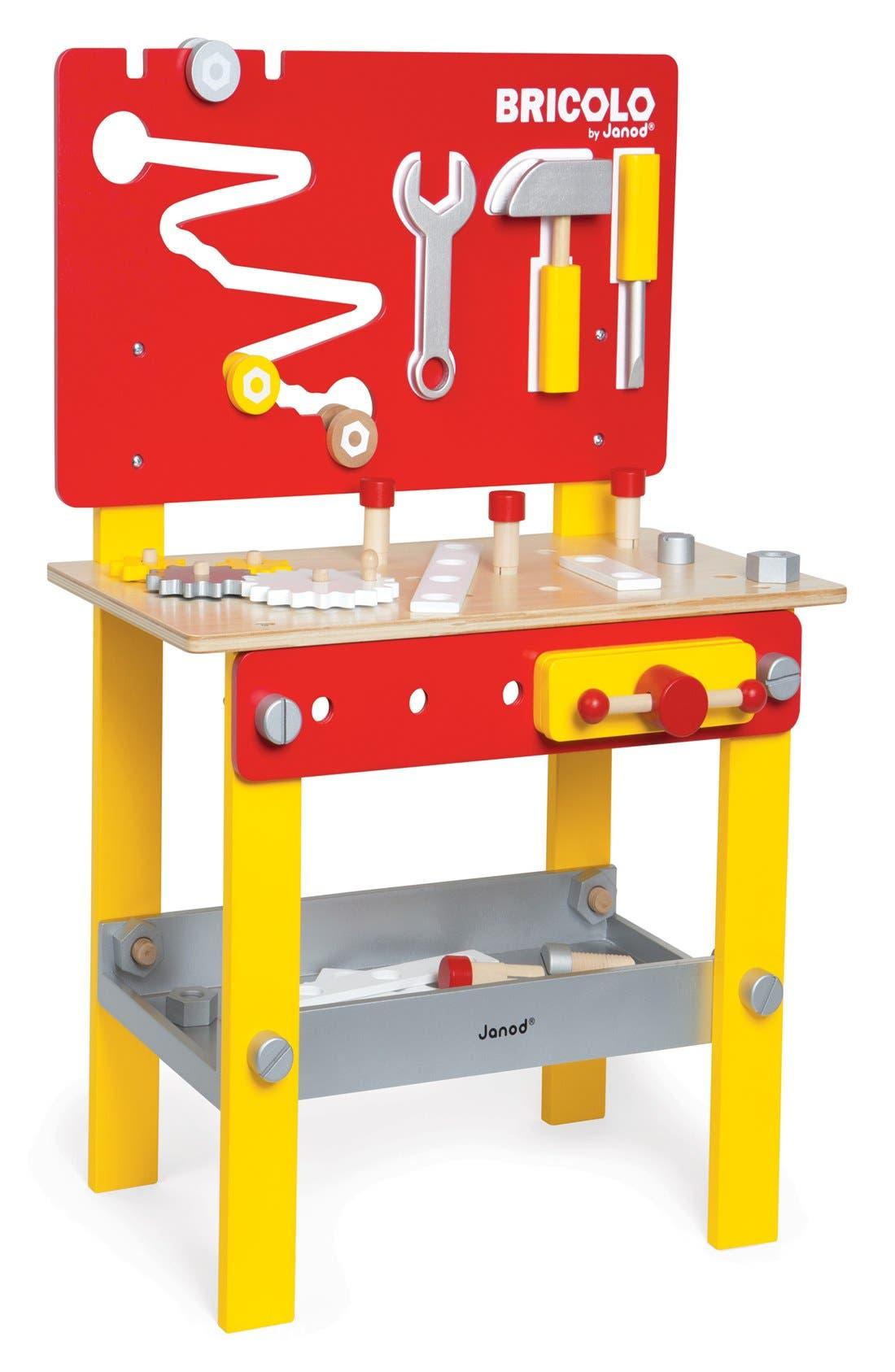 Alternate Image 1 Selected - Janod 'Bricolo Redmaster - DIY Workbench' Play Set